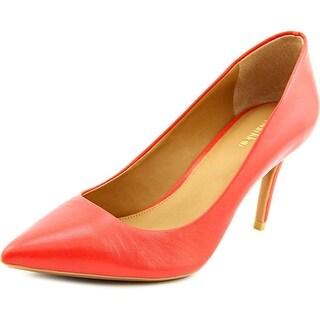 Calvin Klein Gayle Pointed Toe Leather Heels