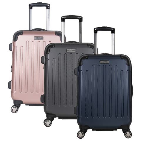 Heritage Travelware 'Logan Square' 20-inch Expandable 8-Wheel Spinner Carry-On Lightweight Hardside Suitcase