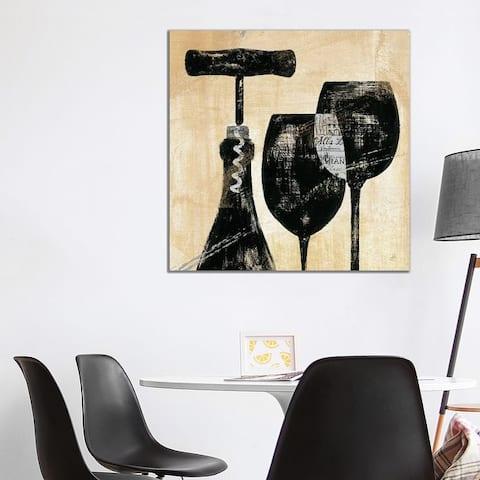 "iCanvas ""Wine Selection II "" by Daphne Brissonnet Canvas Print"
