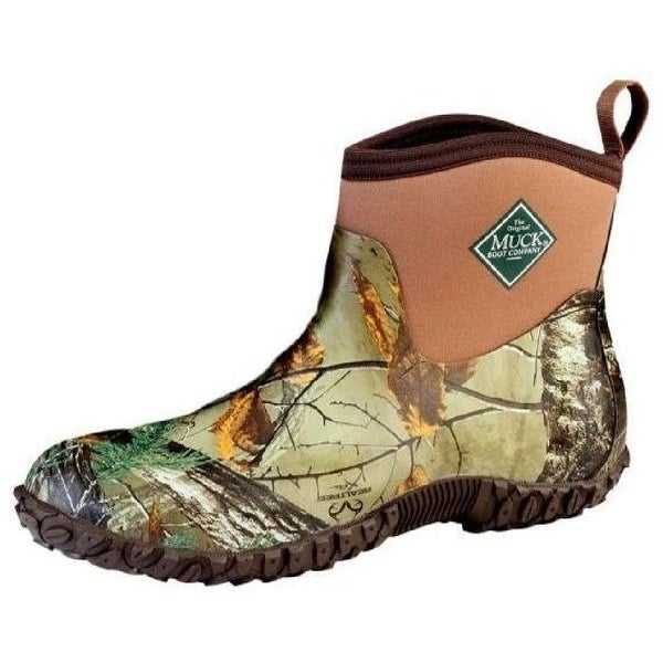 ba2dacb0979 Muck Boots Mens Muckster II Ankle All-Terrain Real Tree M2A-RTX