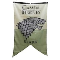"Game of Thrones House Stark 30"" x 50"" Fabric Banner - Multi"