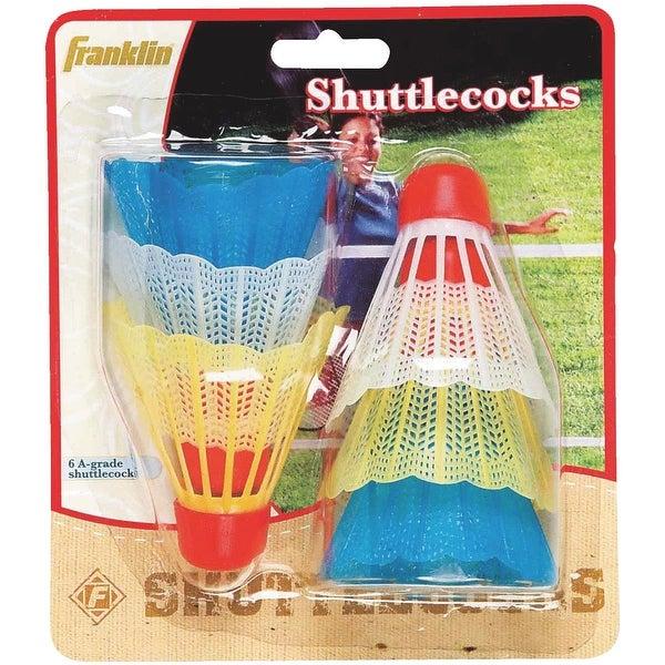 Spalding 6Pk Shuttlecock