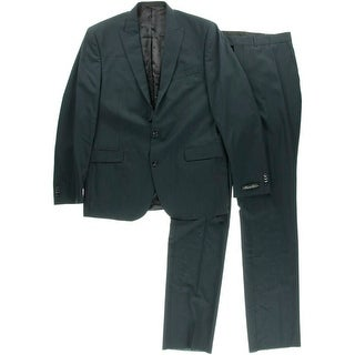 Kenneth Cole New York Mens Wool 2PC Two-Button Suit - 36S