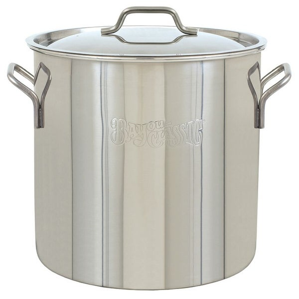 Bayou Classic® 1430 - 30-qt Stainless Brew Kettle. Opens flyout.
