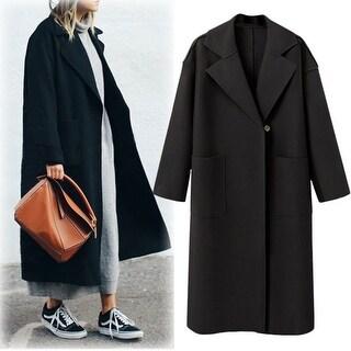 Link to Ms. Long Woolen Coat In Coat Similar Items in Women's Outerwear