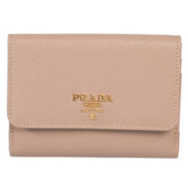 9777187fe3326e Shop Prada Cameo Saffiano Leather Flap Wallet 1MH523 QWA F0770 ...