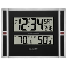 La Crosse Technology 513-149 Atomic Time Digital Wall Clock