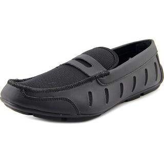 Alfani Austin Men Round Toe Synthetic Black Loafer