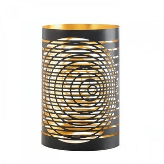 Link to Tall Modern Chic Candleholder - Brown Similar Items in Decorative Accessories