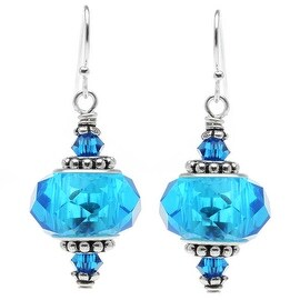 Talia Earrings (blue) - Exclusive Beadaholique Jewelry Kit