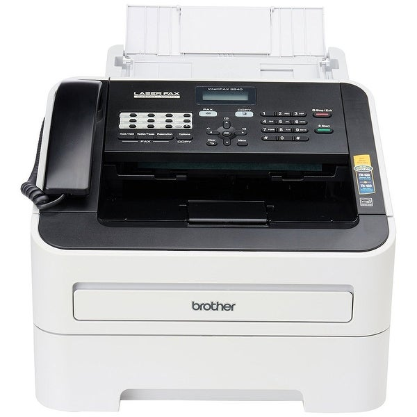 Brother QZ2977M Printer FAX2840 HighSpeed Laser Fax Machine w/ 25 - 400 Percent Copy Scaling