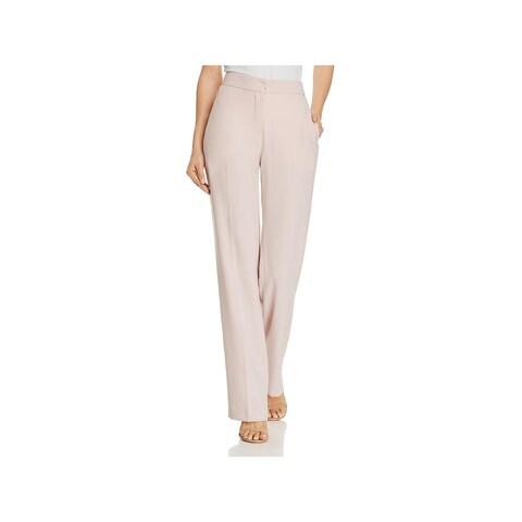 Elie Tahari Womens Leena Trouser Pants Crepe Flat Front