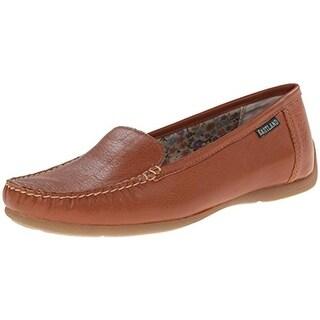 Eastland Womens Daytona Leather Contrast Stitching Loafers - 6 medium (b,m)