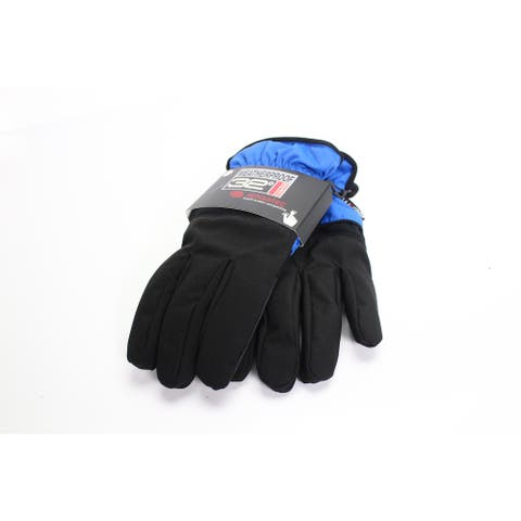 32 Degrees Men's Gloves Black Blue Size XL Touch Screen Winter Accessory