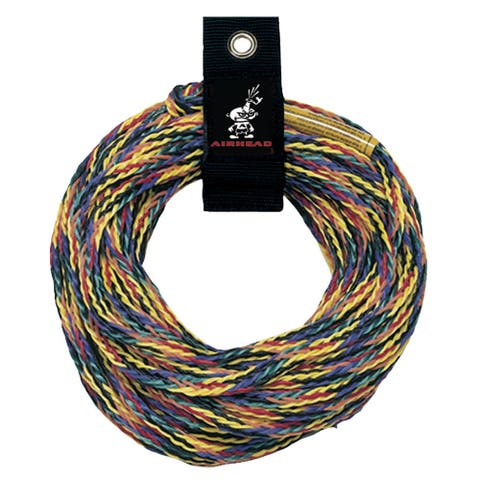 Airhead deluxe 1,500 lb tube tow rope 60 ft. 1-2 riders