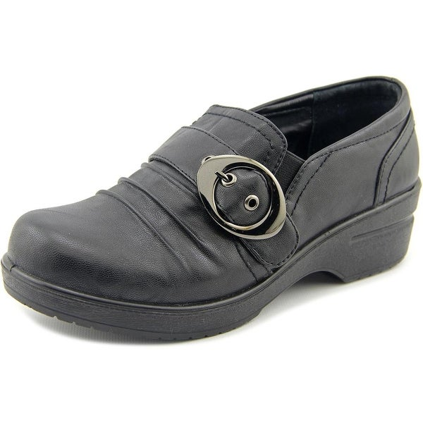 Easy Street Ode Women Round Toe Synthetic Black Clogs