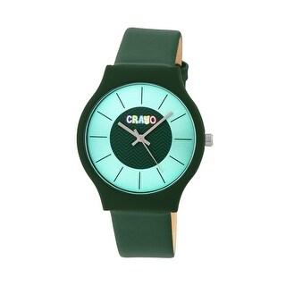Crayo Trinity Unisex Quartz Watch