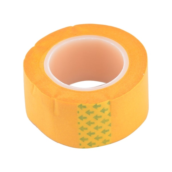 Unique Bargains DIY Hand Craft Model Paint 30mm Width Adhesive Plaster  Cover Tape Office Bank Students Stationery Yellow