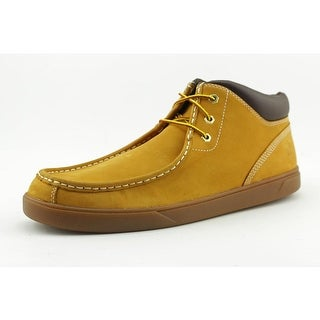 Timberland Groveton   Round Toe Leather  Combat Boot