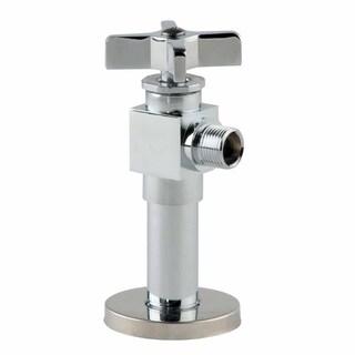 Angle Stop Toilet Valve Chrome Quality 1/2 FIP 3/8 OD Renovator's Supply