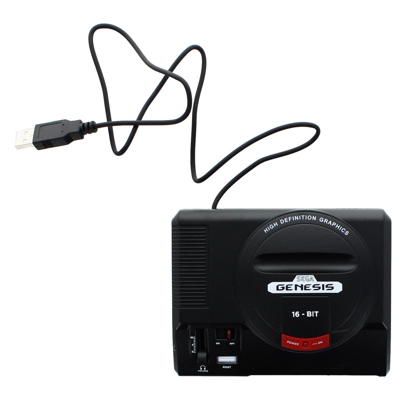 Sega Genesis 16-Bit Mini Classic Game Console USB Hub - multi -  Overstock