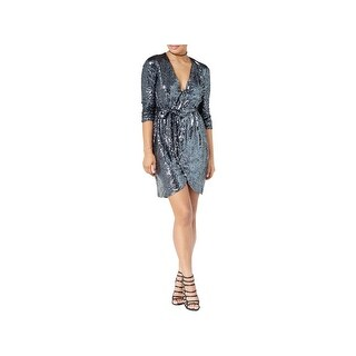 XOXO Womens Juniors Wrap Dress Special Occasion Party - XS