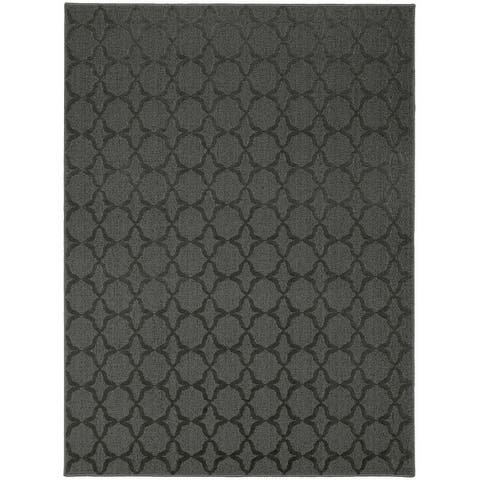 Garland Rug Sparta Solid-color Geometric Indoor Area Rug