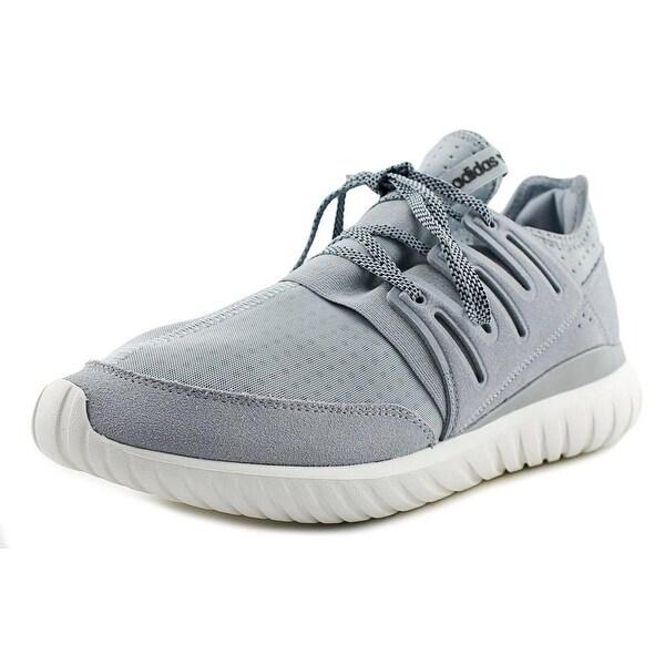 Adidas Tubular Radial Men Round Toe Synthetic Gray Sneakers