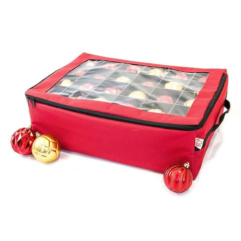 Santa's Bags Two Tray Ornament Storage Bag