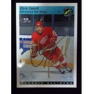 Signed Tancill Chris Adirondack Red Wings 1993 Classic Games Hockey Card autographed