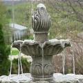 Sunnydaze Classic Tulip 3 Tier Fountain, 46 Inch Tall - Thumbnail 13