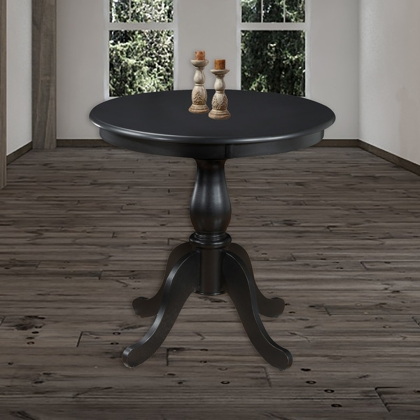 Copper Grove Parnasuss Round Pedestal Dining Table. Opens flyout.