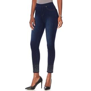 Link to Joan Boyce Womens Embellished Stretch Denim Legging Plus 2X Indigo 606-595 Jeans Similar Items in Pants