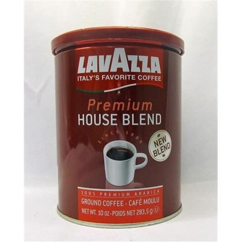 LAVAZZA COFFEE GRND HOUSE BLND-10 OZ -Pack of 12