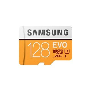 EVO Memory Card w/ Adapter 128GB MicroSDHC Card with SD Adapter