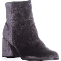Indigo Rd. Crusona Ankle Booties, Dark Gray