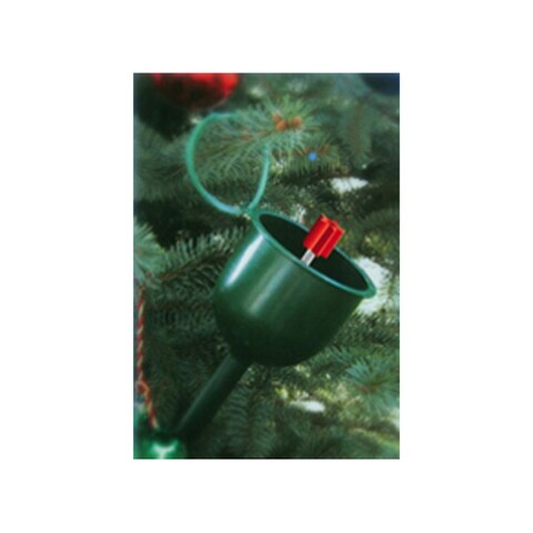 """39"""" Green Watering Spout for Real Live Christmas Trees with Water Level Dipstick"""