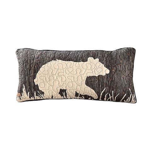 Donna Sharp Moonlit Bear Rectangle Decorative Pillow