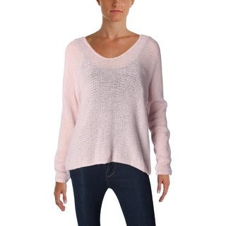 360 Sweater Womens Pullover Sweater Hi Low Long Sleeves