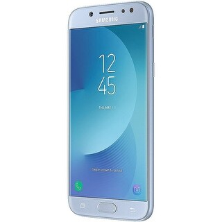 "Samsung Galaxy J5 Pro (16GB) J530G/DS - 5.2"" Dual SIM Unlocked Phone with Finger Print Sensor - Blue Silver"