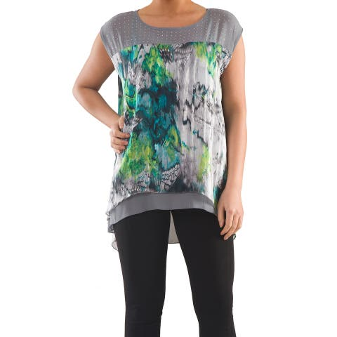 Modern Wrap Blouse - Sizes 14, 16, 18 & 20 - Plus Size Clothing - La Mouette Collections