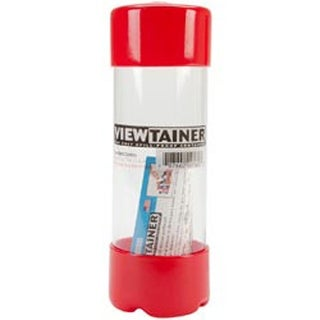 """Red - Viewtainer Storage Container 2""""X6"""""""