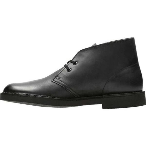1a926600 Shop Clarks Men's Bushacre 2 Boot Black Waxy Leather - On Sale ...