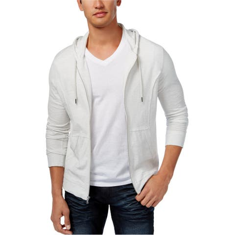 I-N-C Mens Full Zip Hoodie Sweatshirt