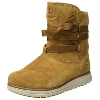 Timberland Womens Leighland Closed Toe Mid-Calf Fashion Boots