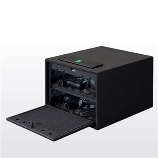 Stack-On Qas-1512-B Quick Access Safe  Large With Electronic Or Biometric Lock