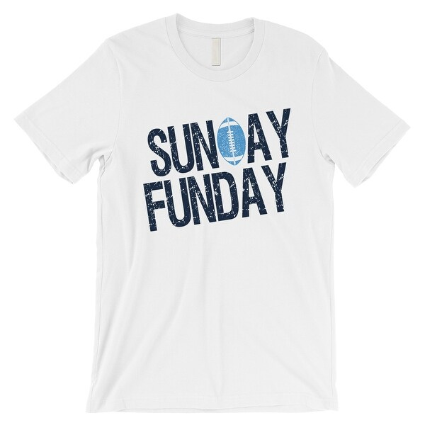 5b57c1a83 Shop SUNDAY FUNDAY T-Shirt Tennessee Mens Funny Game Day Tee Shirt ...