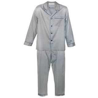 Robert Graham Men's Cotton Sateen Pajama Set - Black