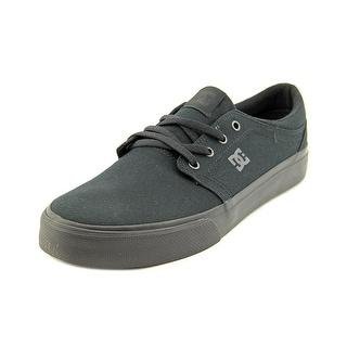 DC Shoes Trase TX Men Round Toe Canvas Black Skate Shoe