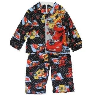 Disney Baby Boys Red Lightning McQueen Cars Printed 2 Pc Pajama Set 12-18M